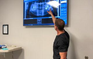 Dr. Davis talking to patient