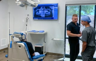 Operating room for oral surgery