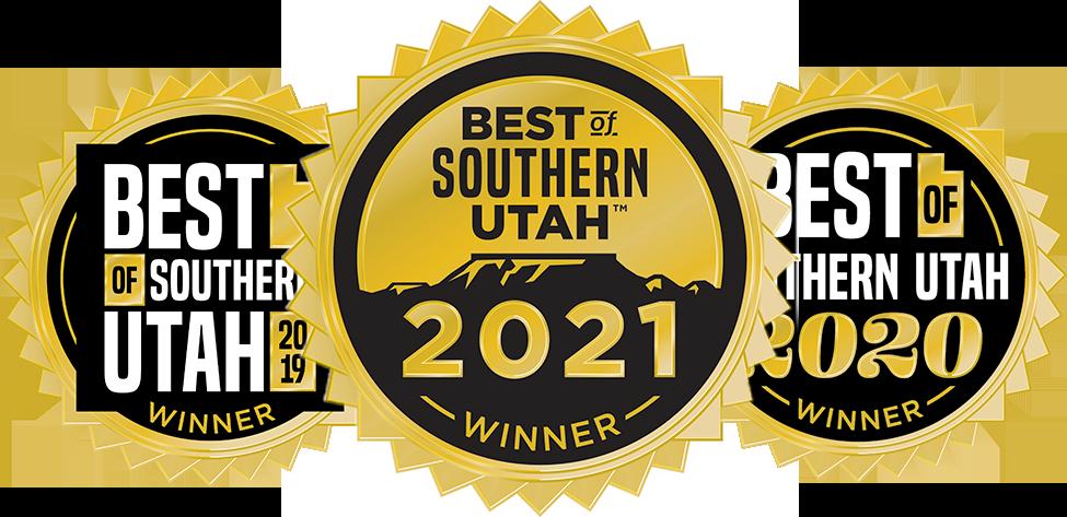 Best of Southern Utah badges
